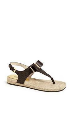 MICHAEL Michael Kors 'Meg' Thong Sandal available at #Nordstrom