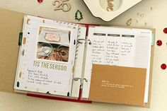 Christmas scrapbooking in a December Daily style December Memories album Memory Album, December Daily, Tis The Season, Scrapbook, Sky, Memories, Heaven, Memoirs, Souvenirs