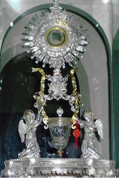 Eucharistic Miracle of Lanciano, Italy. In the 8th century AD, a monk doubted that in the consecrated Host there was truly the Body of Our Lord and in the chalice, His Blood. He celebrated the Mass and after pronouncing the words of consecration, he saw the Host change into flesh and the wine into blood. The laboratory tests, done several times and by different experts in recent years, confirm that this is human flesh and human blood, which are preserved incorrupt.