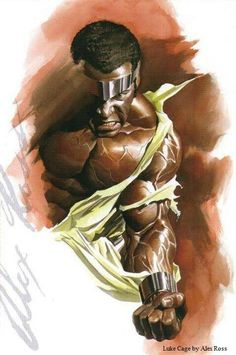 Luke Cage by Alex Ross