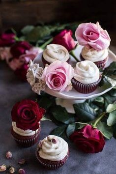 Roses and Cupcakes...beautiful!