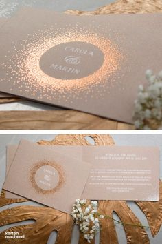 """your own cards: Print photo cards & greeting cards online - Is your wedding going to be glamorous? Then our """"Glossy Premium"""" is your invitation card. The foil -Design your own cards: Print photo cards & greeting cards online - Is your wedd. Diy Wedding Programs, Wedding Cards, Design Your Own Card, Wedding Invitations Elegantes, Online Greeting Cards, Engagement Ring Cuts, Unique Weddings, Photo Cards, Invitation Cards"""