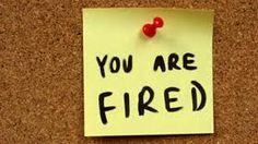 Photo about Yellow small sticky note on an office cork bulletin board. You are fired - unemployment and problems at job. Image of hand, concept, information - 4529095 You Re Fired, Getting Fired, Business Articles, Reality Tv Shows, Career Advice, Sticky Notes, Job Search, Workplace, You Got This
