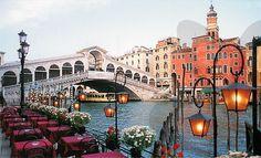 A Rialto híd Velencében Italy, Italia