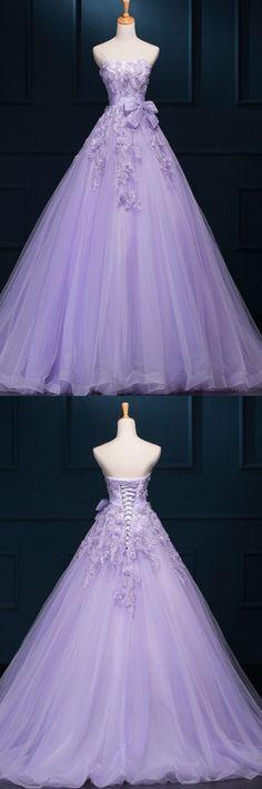 Beautiful purple gown ❤