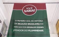 Nas Laranjeiras, Fluminense se orgulha do feito de Oswaldo Gomes  (Foto: Alexandre Alliatti)