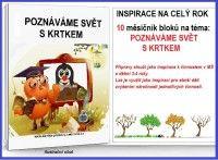 POZNÁVÁME SVĚT S KRTKEM - komplet 10 sad