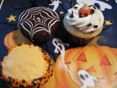 Halloween Cupcakes jigsaw puzzle in Halloween puzzles on TheJigsawPuzzles.com