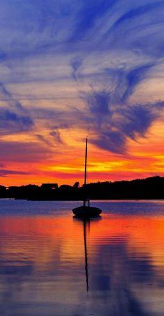 Sail into the sunset - Massachusetts