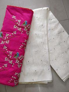 Fancy jute Georgette Sarees with blouse - Elegant Fashion Wear Jute Sarees, Jute Silk Saree, Cotton Saree, Plain Saree With Heavy Blouse, Saree Trends, Yellow Saree, Elegant Fashion Wear, Beautiful Suit, Fancy Sarees