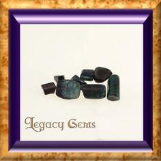 58.8ct Tumbled Rough Tourmaline by LegacyGems on Etsy, $29.40