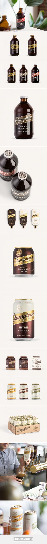 Stumptown Cold Brew packaging design by Column - http://www.packagingoftheworld.com/2018/01/stumptown-cold-brew.html