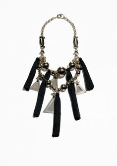 & Other Stories | Tassel Statement Necklace