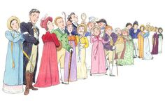 Jane Austen, 'Persuasion' cast of characters