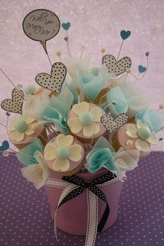 cupcake bouquet by RATUkek, via Flickr
