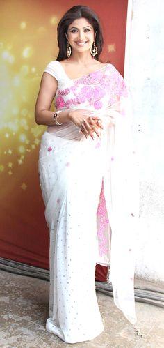 Shilpa Shetty on the sets of 'Nach Baliye' #Bollywood #Fashion