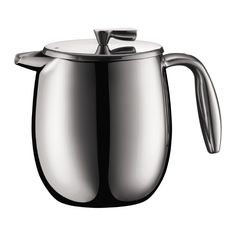 BODUM COLUMBIA French press this French Press® coffee maker doubles as an insulated thermos: coffee stays hot and fresh for up to two hours