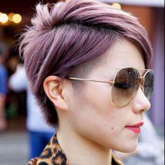 I kinda want lavender hair