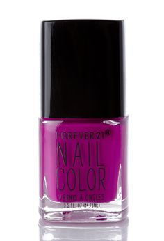 Fuchsia Nail Polish | FOREVER21 #F21Cosmetics #SummerForever #F21XME
