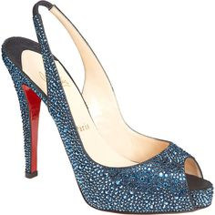 Christian Louboutin No Prive Riche ($2,875) ❤ liked on Polyvore