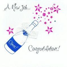 Congratulations New Job New Job Party, Leaving Cards, Good Luck Cards, Congratulations Card, Christmas Wishes, Invitations, Invitation Ideas, St Patricks Day, Fathers Day