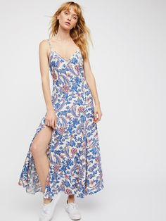 Free People x Spell Monaco Etienne Strappy Dress at Free People Clothing Boutique