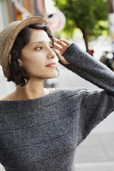 Holl dolman pullover from Brooklyn Tweed