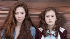 Jenna Thiam as Lena and Yara Pilartz as Camille in The Returned