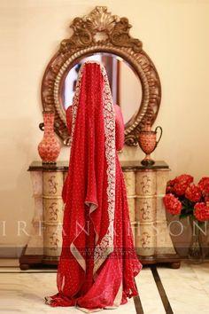 gorgeous bridal capture #red #duputta  #bride #wedding