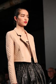 Leather & Lace at Jason Wu #Nordstrom #nyfw