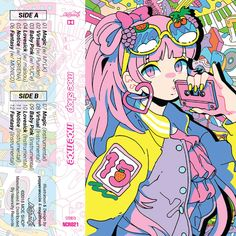 Moe Moe by Moe Shop on SoundCloud Cartoon Kunst, Anime Kunst, Cartoon Art, Anime Art, Art And Illustration, Illustrations, Aesthetic Art, Aesthetic Anime, Goth Art