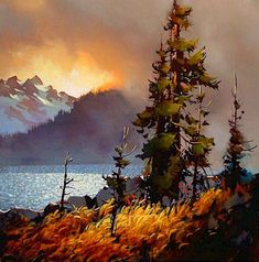 Landscape painting by Michael O'Toole.