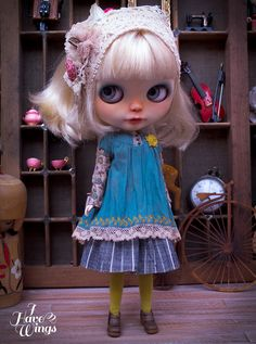 I HAVE WINGS | ~ Doll Couture & Custom Doll Atelier ~