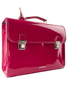 Fuchsia pink school bag #whatgirlswant