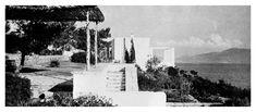 "1938 Aris Konstantinidis ""see map Attica Greece, Oil Refinery, Weekend House, Agra, Art Of Living, Athens, Sky, Artwork, Outdoor"