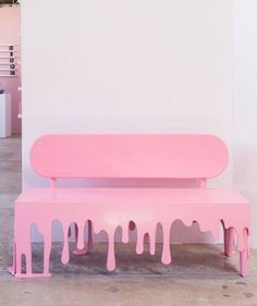 Best Diy Painted Chair Designs Ideas (For Your Inspiration) - Diyandart Collage Des Photos, Everything Pink, Pink Aesthetic, Pastel Pink, Chair Design, Design Design, Pretty In Pink, Bedroom Decor, Bedroom Colors