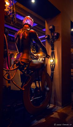 Enigma Cafe Club interior design