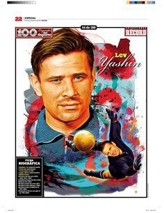 Lev Yashin - There was a sense that this man would never let in a goal...often copied in the playgrounds (with less impressive results I might add).
