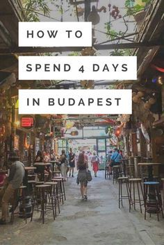 If you're wondering if 3 or 4 days in Budapest is enough, trust me when I say that won't even do the city justice. By the end of my trip, Budapest was up there with my favourite cities in the world! There's so much character to the city and so much to do that something is bound to resonate with you. It really does cater to every traveller. Read more on how to make the most of your 4 days in Budapest.