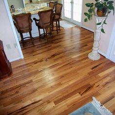 "Exotic Brazilian Tigerwood Koa/ Prefinished - Brazilian Tigerwood Koa Hardwood Flooring 3"""
