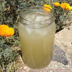 Water Kefir Lemonade - Yummy Kefir