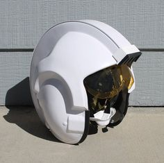 I am offering an X Wing pilot helmet kit as well as assembled helmet (NOT PAINTED) These helmets and kits are made from ABS plastic with a sliding visor.