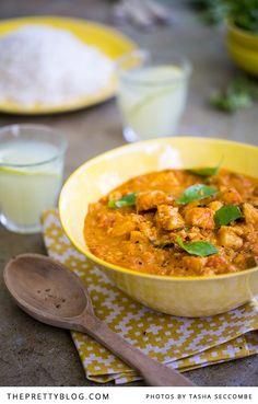 Delicious Fish Curry | Photographer: @Tasha Seccombe, Recipe, testing & preparation: @Ilse van der Merwe, Styling: @Nicola Pretorius, Serviettes : Indigi Designs |