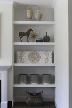 Shelf Styling by O Interiors    me oh my!: Living Room Renovation by O Interiors