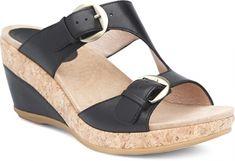 46ff9c62da Dansko Carla Wedge Sandal: Back Full Grain Dansko Shoes, Shoe Shop, Real  Leather