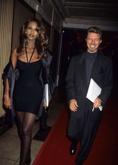 David Bowie And Iman Have The Perfect Valentine's Day Outfits (