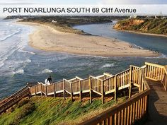Onkaparinga River mouth meets Southport Port Noarlunga