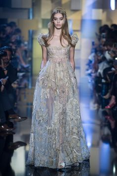 The Best Gowns From Paris Couture Week Fall 2015 - Elie Saab | StyleCaster