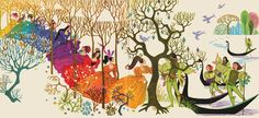 The Twelve Dancing Princesses by Sheilah Beckett. A beautifully illustrated of a Russian classic.
