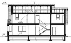 This four bedroom classic house design is an interesting proposition for people with medium-wide plot. The house has a typical shape, which greatly facilitates the construction process. House Construction Plan, Construction Process, Classic House Design, Floor Plans, How To Plan, Bedroom Classic, Decor, Houses, Decoration